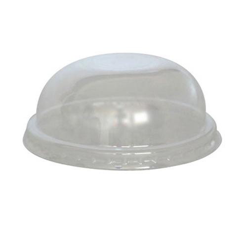 "PacknWood Clear Dome Lid for Portion Cup - 3.5"" - 210GKL90D"