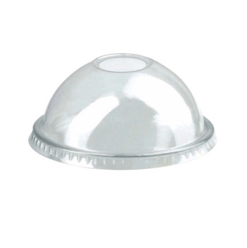 "PacknWood Clear Dome Lid for Portion Cup - 2.9"" - 210GKLD74D"