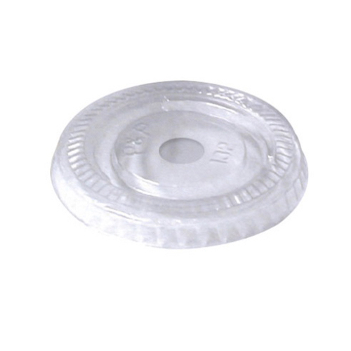 "PacknWood Clear Dome Lid for Portion Cup - 3.7"" - 210GKLSMOOD"