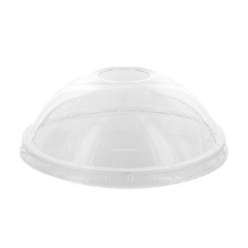 PacknWood Clear Dome Cold Lid for Deli Container - 12-24 oz - 210GKLDZ114