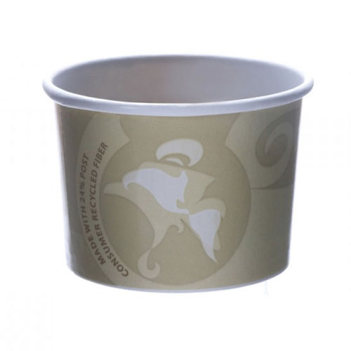 Eco-Products PCF Evolution World Container - 8 oz - EP-BRSC8-EW