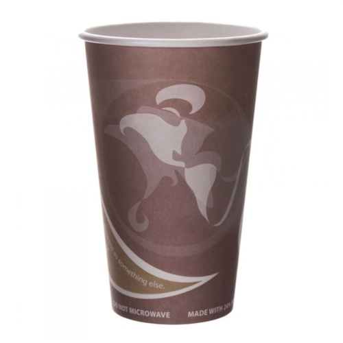 Eco-Products PCF Evolution World Hot Cup - 16 oz - EP-BRHC16-EW