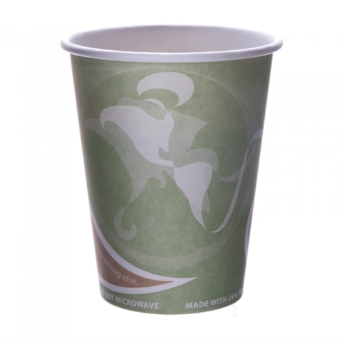 Eco-Products PCF Evolution World Hot Cup - 12 oz - EP-BRHC12-EW