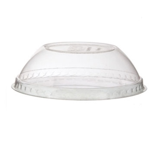Eco-Products PLA Clear Dome Lid for Container - 12-32 oz - EP-BSCDLID