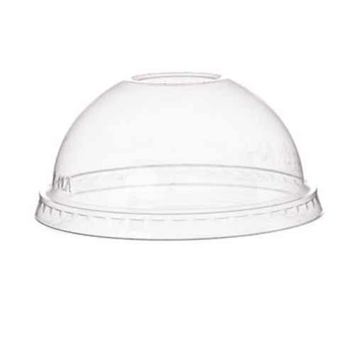 Eco-Products PLA Clear Dome Lid for Container - 8-10 oz - EP-BSC8DLID