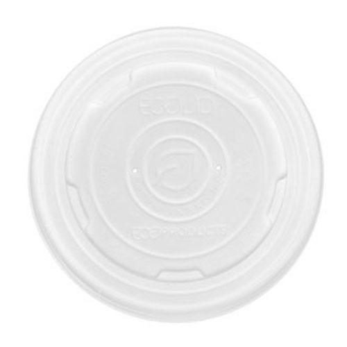 Eco-Products PLA Translucent Lid for Container - 12-32 oz - EP-ECOLID-SPL