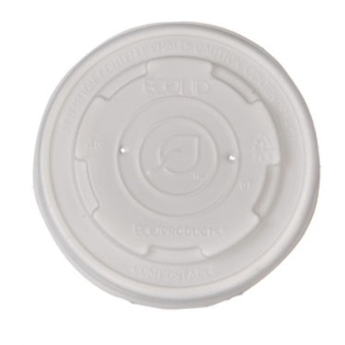 Eco-Products PLA Translucent Lid for Container - 4 oz - EP-ECOLID-SPS4