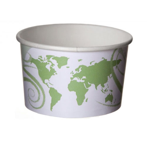 Eco-Products Paper World Delight Container - 5 oz - EP-BSC5-WDL