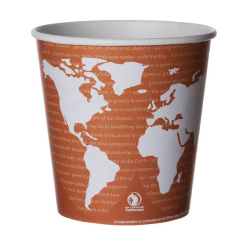 Eco-Products Paper World Art Container - 24 oz - EP-BSC24-WA