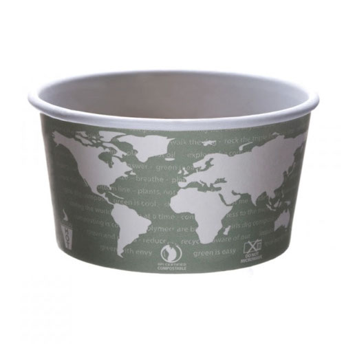 Eco-Products Paper World Art Container - 12 oz - EP-BSC12-WA