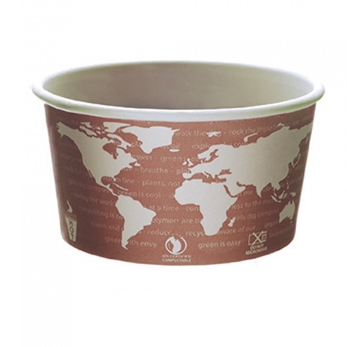 Eco-Products Paper World Art Container - 10 oz - EP-BSC10-WA