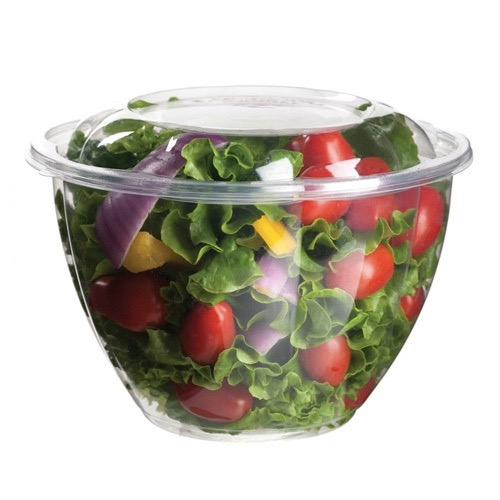 Eco-Products PLA Clear Lid Salad Bowl - 48 oz - EP-SB48