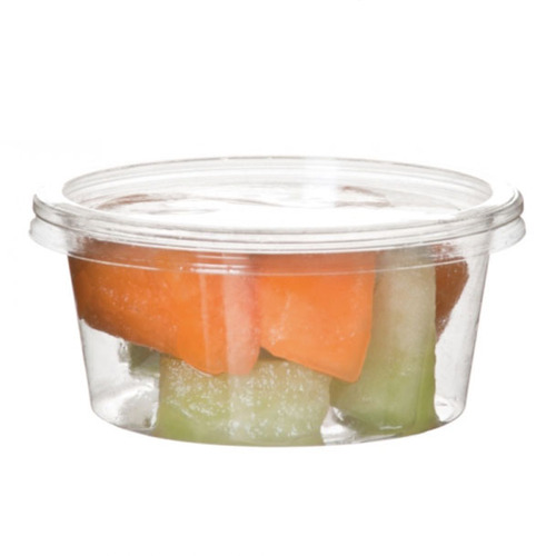 Eco-Products PLA Clear Round Deli Container - 5 oz - EP-RDP5