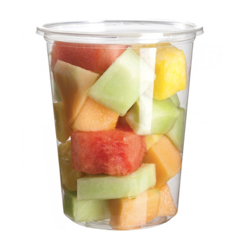 Eco-Products PLA Clear Round Deli Container - 32 oz - EP-RDP32