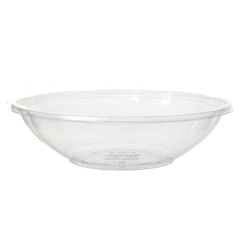Eco-Products PLA Clear Squat Salad Bowl - 48 oz - EP-SBS48BASE