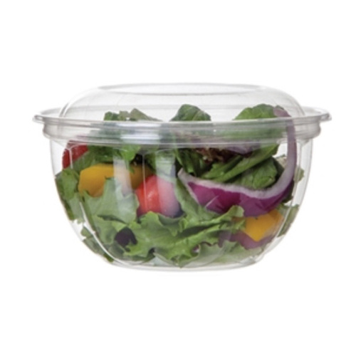 Eco-Products PLA Clear Lid Salad Bowl - 18 oz - EP-SB18