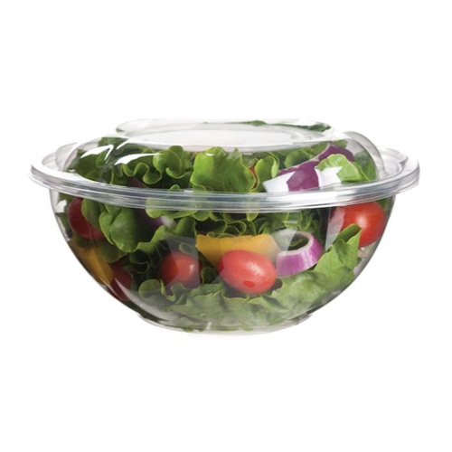 Eco-Products PLA Clear Lid Salad Bowl - 24 oz - EP-SB24