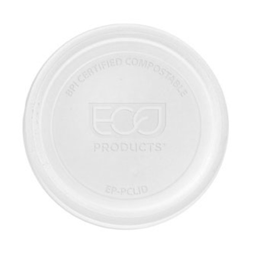 Eco-Products PLA Clear Flat Lid for Portion Cup - 2-4 oz - EP-PCLID