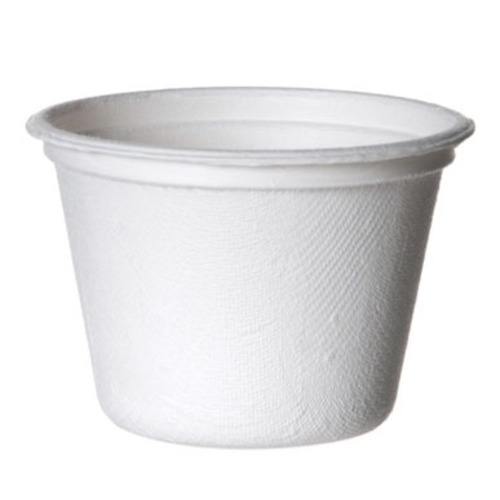 Eco-Products Sugarcane White Portion Cup - 4 oz - EP-SPC4