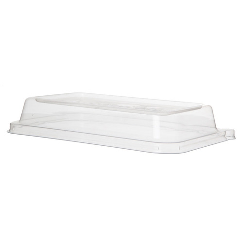 Eco-Products PLA Clear Lid for Rectangular Container - 24-32 oz - EP-SCRC24LIDP