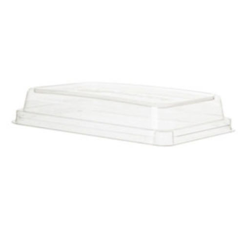 Eco-Products rPET Clear Lid for Rectangular Container - 48 oz - EP-SCRC107LID-R