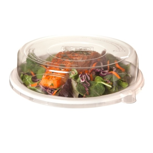 "Eco-Products rPET Clear Lid for Round Plate - 9"" - EP-P013LID"