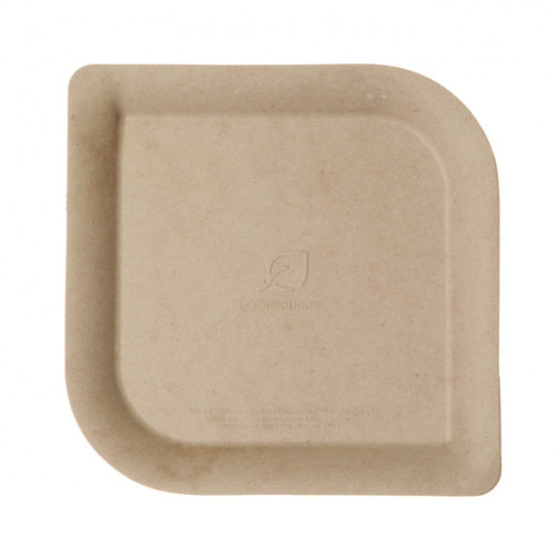 "Eco-Products Sugarcane Bamboo Kraft Plate - 6"" - EP-PBS6"