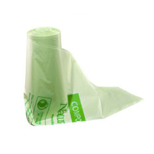 "Eco-Products PLA Green Can Liner Bag - 55 Gal - 42"" x 48"" - EP-CB55"