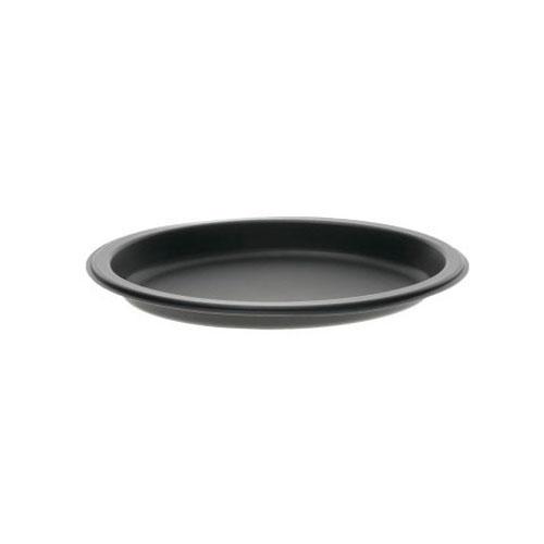 """EarthChoice MFPP Black Oval Microwavable Platter - 11"""" x 7"""" - YCN801170001"""