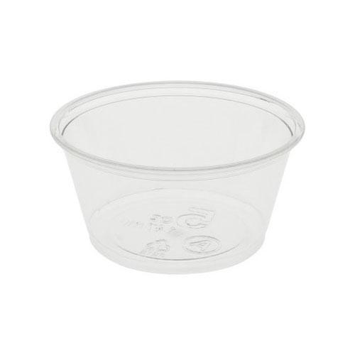 EarthChoice rPET Clear Sundae Portion Cup - 5 oz - YPS5CA