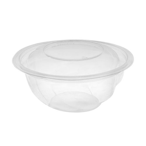"EarthChoice rPET Clear Round Lid Bowl - 24 oz - 7"" - 724PSSL"