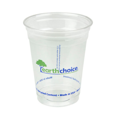 EarthChoice rPET Clear Print Cold Cup - 16 oz - YP160CEC2