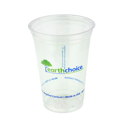 EarthChoice rPET Clear Print Cold Cup - 20 oz - YP21CEC2