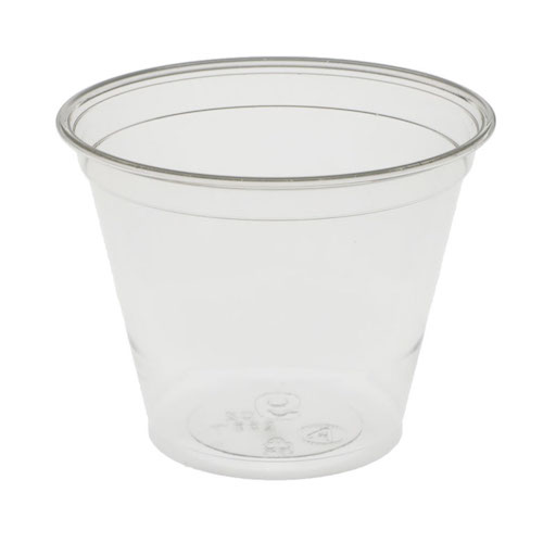 EarthChoice rPET Clear Cold Cup - 9 oz - YP9C