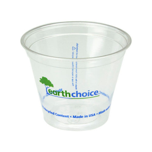 EarthChoice rPET Clear Print Cold Cup - 9 oz - YP9CEC2