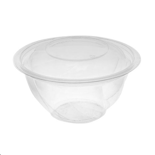 "EarthChoice rPET Clear Round Lid Bowl - 32 oz - 7"" - 732PSSL"