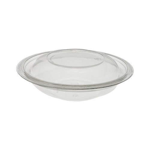 "EarthChoice rPET Clear Round Lid Bowl - 16 oz - 7"" - 716PSSL"