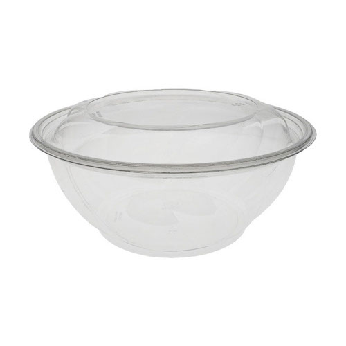 "EarthChoice rPET Clear Round Lid Bowl - 96 oz - 10"" - 1096PSSL"