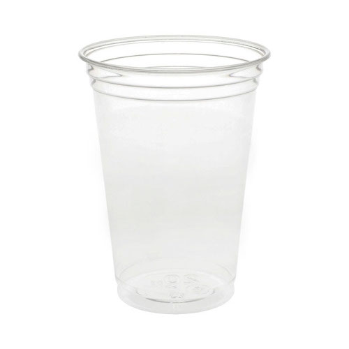 EarthChoice rPET Clear Cold Cup - 20 oz - YP21CA