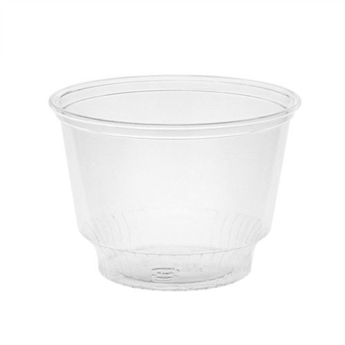 EarthChoice rPET Clear Sundae Portion Cup - 8 oz - YPS8C