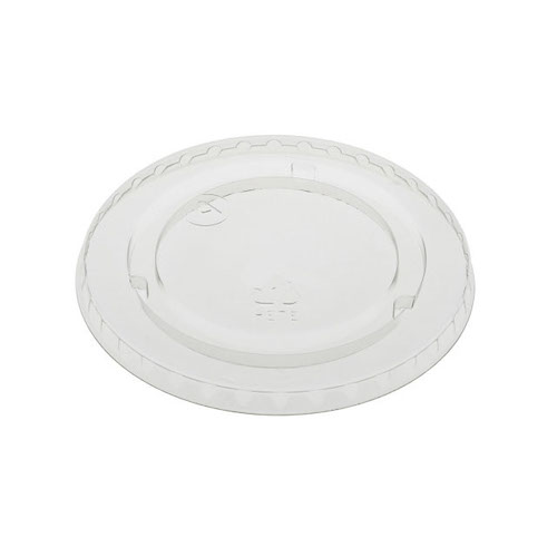 EarthChoice rPET Clear Flat Lid for Cold Cup - 9,12-14,16,20 oz - YLP20CNH