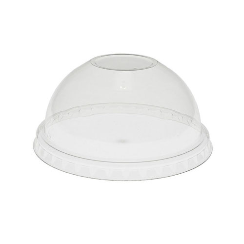EarthChoice rPET Clear Dome Lid for Cold Cup - 9,12-14,16,20 oz - YPDL20CNH