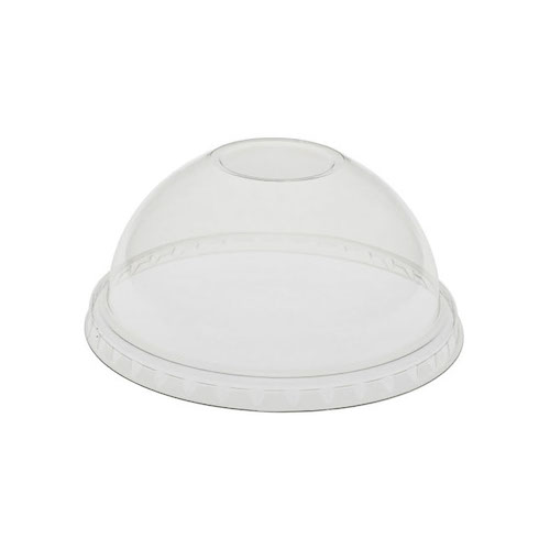 EarthChoice rPET Clear Dome Lid for Cold Cup - 12,16,20,24 oz - YPDL24CNH