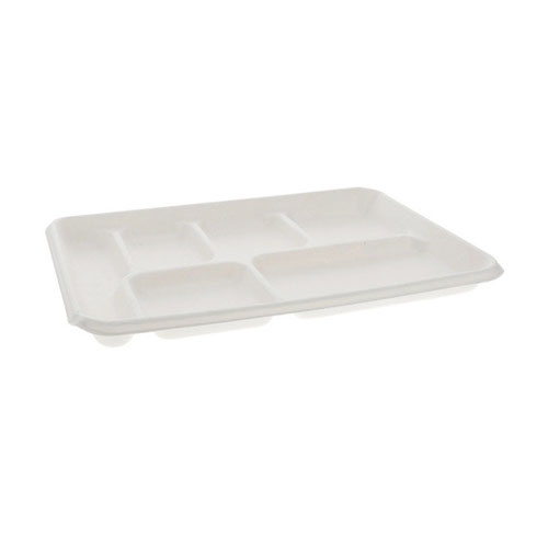 "EarthChoice Fiber Blend 6 Compartment Tray - 8.5"" x 12.5"" - MC50601"