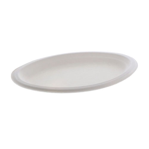 "EarthChoice Fiber Blend Oval Platter - 7.5"" x 10"" - MC500430001"