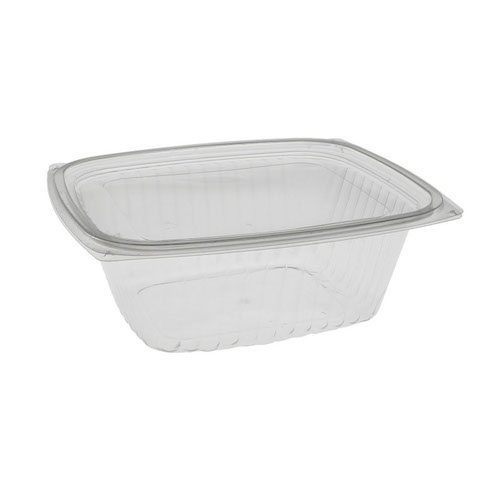 "EarthChoice PLA Clear Deli Lid Container - 32 oz - 7.5"" x 6.5"" x 2.75"" - YLI860320000"