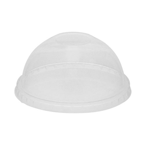 EarthChoice PLA Clear Dome Lid for Cold Cup - 12-14,16-18,20,24 oz - YPLADL24CNH