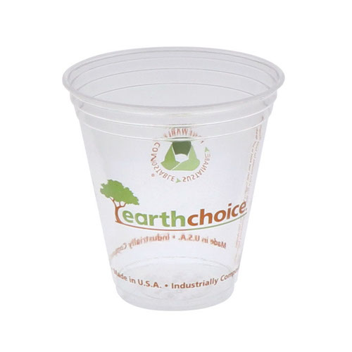 EarthChoice PLA Clear Print Cold Cup - 12-14 oz - YPLA1412CEC