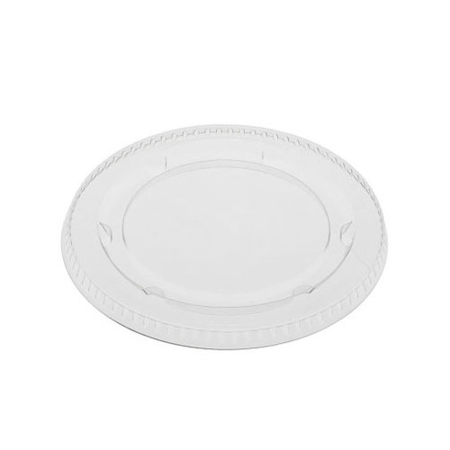 EarthChoice PLA Clear Flat Lid for Portion Cup - 3-4 oz - YLSPLA3