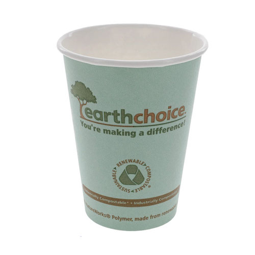 EarthChoice Paper Print Hot Cup - 12 oz - DPHC12EC